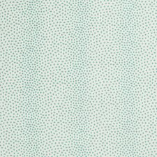 White/Turquoise Animal Decorator Fabric by Kravet