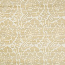 White/Beige/Camel Damask Decorator Fabric by Kravet