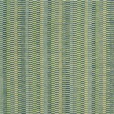 Light Green/Light Blue/Teal Stripes Decorator Fabric by Kravet