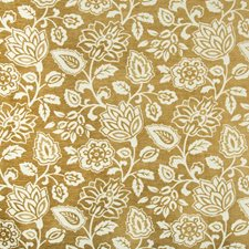 Beige/Camel Botanical Decorator Fabric by Kravet