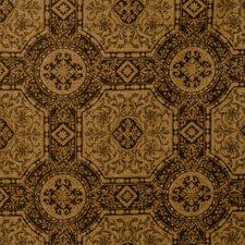 Chocolate Lattice Decorator Fabric by Fabricut