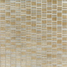 Brass Geometric Decorator Fabric by Kravet