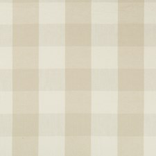 Ivory/Beige Check Decorator Fabric by Kravet