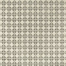 Slate Geometric Decorator Fabric by Kravet