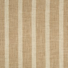 Beige/Ivory/Camel Stripes Decorator Fabric by Kravet