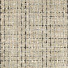 Grey/Indigo Check Decorator Fabric by Kravet