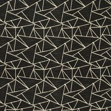 Black/Beige Modern Decorator Fabric by Kravet