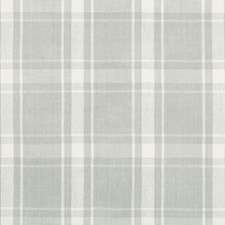 Grey Plaid Decorator Fabric by Kravet