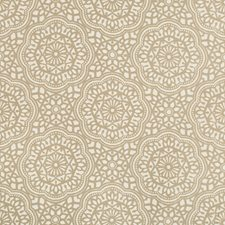 Taupe/Ivory Ethnic Decorator Fabric by Kravet