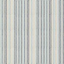 Indigo/Light Blue/Beige Dots Decorator Fabric by Kravet