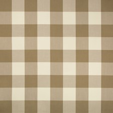 Taupe/Beige Plaid Decorator Fabric by Kravet