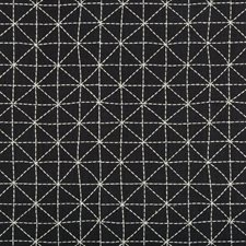 Ink Geometric Decorator Fabric by Kravet