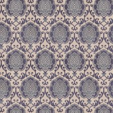 Cobalt Damask Decorator Fabric by Fabricut