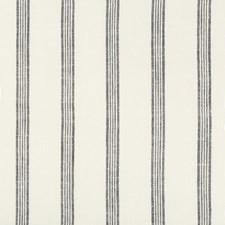 White/Dark Blue Stripes Decorator Fabric by Kravet