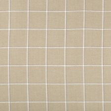 Beige/White/Grey Check Decorator Fabric by Kravet