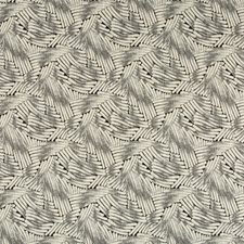 White/Black Modern Decorator Fabric by Kravet