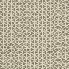 Ivory/Grey Geometric Decorator Fabric by Kravet