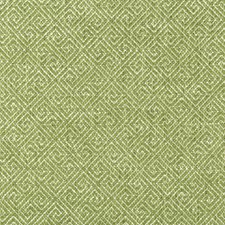 Green/Mint/White Geometric Decorator Fabric by Kravet