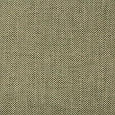 Green Herringbone Decorator Fabric by Kravet