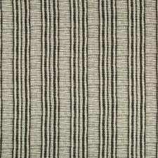 Charcoal/Grey/Black Stripes Decorator Fabric by Kravet