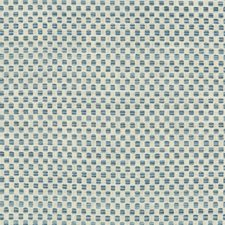 White/Light Blue/Blue Small Scale Decorator Fabric by Kravet