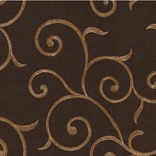 Brown Lattice Decorator Fabric by Kravet
