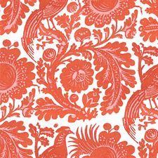 Tangerine Decorator Fabric by Scalamandre