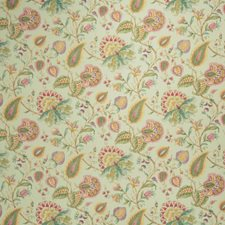 Seagreen Floral Decorator Fabric by Fabricut