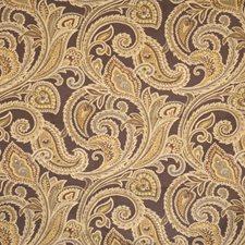 Walnut Paisley Decorator Fabric by Fabricut