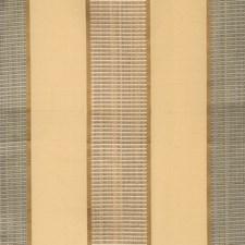 Aqua Sand Stripes Decorator Fabric by Fabricut