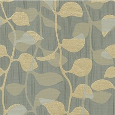 Blue Pearl Botanical Decorator Fabric by Kravet
