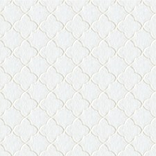White Geometric Decorator Fabric by Kravet