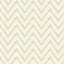 Cream Flamestitch Decorator Fabric by Kravet