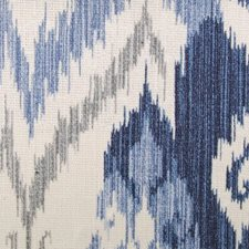 Blue/Mist Abstract Decorator Fabric by Duralee