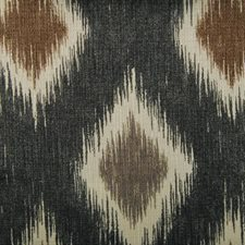 Black/brown Decorator Fabric by Duralee