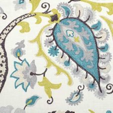Peacock Decorator Fabric by Duralee