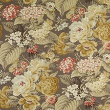 Gold/Silver Botanical Decorator Fabric by Duralee