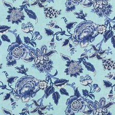Chambray Botanical Decorator Fabric by Duralee