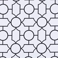 Black/White Dots Decorator Fabric by Duralee