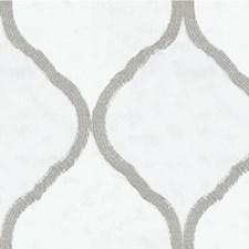 Ivory/Light Grey Modern Decorator Fabric by Kravet