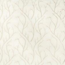 Beige/Ivory Botanical Decorator Fabric by Kravet