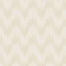 Ivory Flamestitch Decorator Fabric by Fabricut