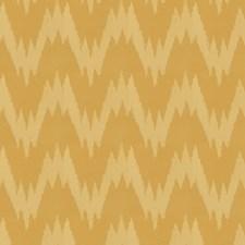 Marigold Flamestitch Decorator Fabric by Fabricut
