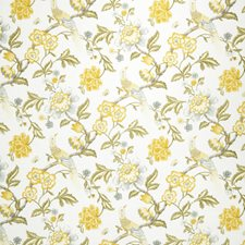 Lemon Zest Jacobean Decorator Fabric by Trend