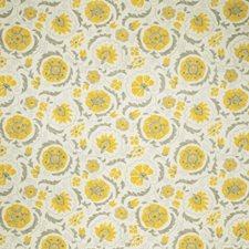 Lemon Zest Global Decorator Fabric by Trend