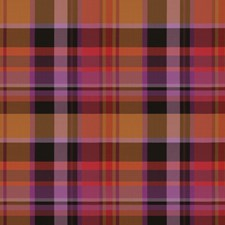 Red Cherry Check Decorator Fabric by S. Harris