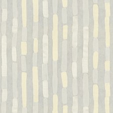 White/Ivory Modern Decorator Fabric by Kravet