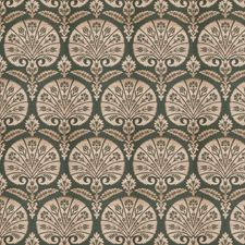 Malachite Medallion Decorator Fabric by Stroheim