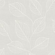 White Botanical Decorator Fabric by Kravet