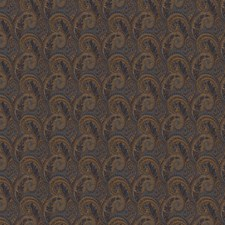 Navy Paisley Decorator Fabric by Trend